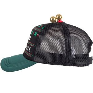 Accessories - Men's Single and ready to jingle hat with bells